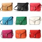 Fashion Single Cross Shoulder Bag Leather PU Hangbag Tops Casual For Lady's
