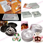 Fondant Cake Decorating Sugarcraft Muffin Baking Mould Tasty-fill Pan Tin Set