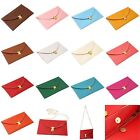 Lady Women Envelope Leather Clutch Chain Purse HandBag Shoulder Hand Tote Bag