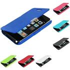 For iPhone 3G S 3GS Color Wallet Leather Front Hard Case Cover Pouch Holder