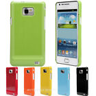 New Slim Fit Flexible Rubberized Hard Case Cover For Samsung Galaxy S2 II i9100