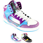 WOMENS ETNIES UPTOWN 2 SKATE HIGH TOP GIRLS TRAINERS LADIES UK 3-8