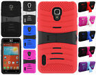 For LG Optimus F7 US780 Rubber KICK STAND Case Phone Cover Accessory