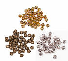 New 40Pcs Zinc Alloy Lantern Shape Spacer Bead For Jewelry 4 Color U Pick