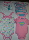 Infant Girls PUMA One Piece Bodysuits TShirt Set of 4 Sizes  3-6M NWT