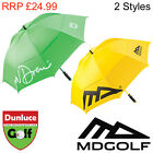 "2013 MD GOLF LARGE 66"" TWIN CANOPY UMBRELLA - NEW DOUBLE SPORT TOUR WINDBUSTER"