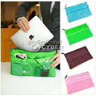 HOT Purse Insert Organizer mp3 phone cosmetic storage_Slim Bag in Bag Handbag