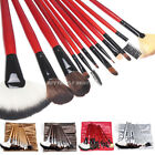 12pcs Makeup Brushes Set Foundation Eyeshadow Powder Brush Mascara Lip With Bag