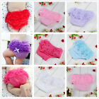 6-24M Baby Girl Bloomers Diaper Cover Lace Petti Ruffle Panties