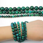 4mm 6mm 8mm Blue Green Chrysocolla Gemstone Round Loose Spacer Beads Arts Crafts