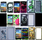 LG Optimus Showtime L86C L86G Phone Cover DESIGN Case + SCREEN PROTECTOR