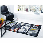 Matrix Themes Scenery Modern Retro Funky Thick Quality Extra Soft Pile Mat Rug