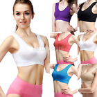 Fashion Stretch Comfort Seamless Lace Leisure Sports Crop Top Bra Vest