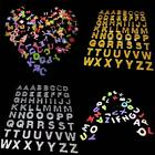Wholesale Lot Captial ALPHABET LETTER Craft Foam Crafts Self Adhesive Stickers