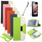 For Apple iPhone 5 5G 5S Magnetic Leather Flip Wallet Card Slot Stand Case Cover