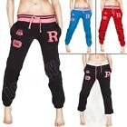 New Womens Ladies R-NYC Fleece Tracksuit Jogging Bottoms Joggers Size 8 10 12 50
