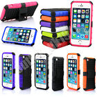 For iPhone 5 5S Strong Heavy Duty Durable Tradesman TPU Stand Case Cover+Stylus