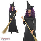 Halloween Fancy Dress # Ladies Witch Costume Size 8-18