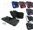 for Apple iPhone 5 5s SE+Pry Tool Heavy Duty Hybrid Case&Belt Clip Holster Stand