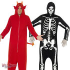 Halloween Fancy Dress # Adult Skeleton Onesie Costume