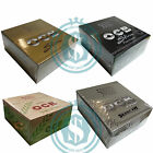 50 OCB King Size Papers - Choose Premium, Gold, Organic Hemp, Xpert Slim Fit