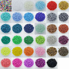 1000 Pcs 2mm Czech Glass Seed Spacer beads Jewelry Making DIY Pick 16Color-1 Z19