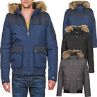 JACK AND JONES JACKETS MENS BOYS HOODED PADDED WINTER JACKET COATS (BRAND NEW)
