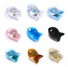 Swarovski Crystal Element 6727 Fish Pendant 18mm