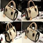 Lady Tote Hobo Shoulder Handbag Bag PU Leather Vintage Office