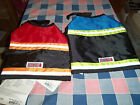 NWT Kong Safety Vest Reflective Strips Velcro Straps Neck Belly Use Drop Down Bo