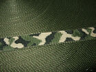 25mm Polypropylene Webbing, Woven Camouflage