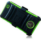 For ZTE Vital N9810 HYBRID COMBO KICKSTAND Rubber Case Phone Cover