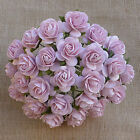 Mulberry Paper Flowers 10 x OPEN ROSES 20mm Cardmaking & Craft Embellishments