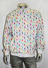 Coogi White FLORAL PRINT Track Jacket