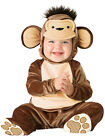Child Infant Mischievous Monkey Fancy Dress Costume Jungle Animal Chimp Ape Kids