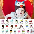 Fashion Cute Baby Boy Girl Toddler Owls Knit Crochet Hat Beanie Caps Wholesale
