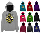 Mens Ace Of Spades Skull Tribal Gothic Pullover Hoodie NEW XS-XXL