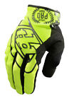 NEW TROY LEE DESIGNS TLD SE PRO MX DIRT BIKE OFFROAD GLOVES YELLOW ALL SIZES