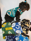 NFL TEAM Size SMALL Dog Fleece shirt, vest more styles & sizes in my e-bay store $8.95 USD on eBay