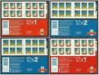 2012 LX43 & LX44 Christmas Stamp Booklets in mnh condition, each sold seperately