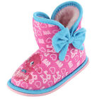 GIRLS MOSHI MONSTER SLIPPER BOOTS SIZE 8 PINK POPPET SLIPPER BOOT