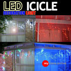 292/500/600/700 LED Christmas Fairy Icicle Light Ultra Bright String Rope Party