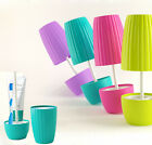 New Creative Life Series Potted Plant Shaped Bathroom Wash Set Toothbrush Holder