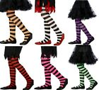 NEW GIRLS KIDS CHILDRENS STRIPED TIGHTS FANCY DRESS Ideal for Halloween Witch