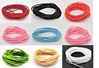 5m Suede Effect Cord Ribbon Velvet Jewellery Making Necklaces Bracelets 2.5mm XH