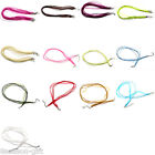 20 PCs Lobster Clasp Organza Ribbon Waxen Cord String Necklaces M1013