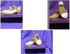 NEW Mary Jane, Caramel Buckle,  Leather Upper Cusioned Insole Girl's M Tap Shoes