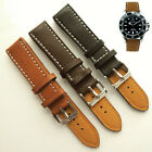 UM0080 Black/Dark Brown/Light Brown Men/Women Punk 20mm Wrist Watch Band Strap