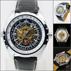UY20 STEAMPUNK LUXURY FASHION MECHANICAL AUTOMATIC STEEL MEN WRIST WATCH +Box