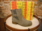 Bare Traps Tansy Grey Buckle Ankle Boots NEW